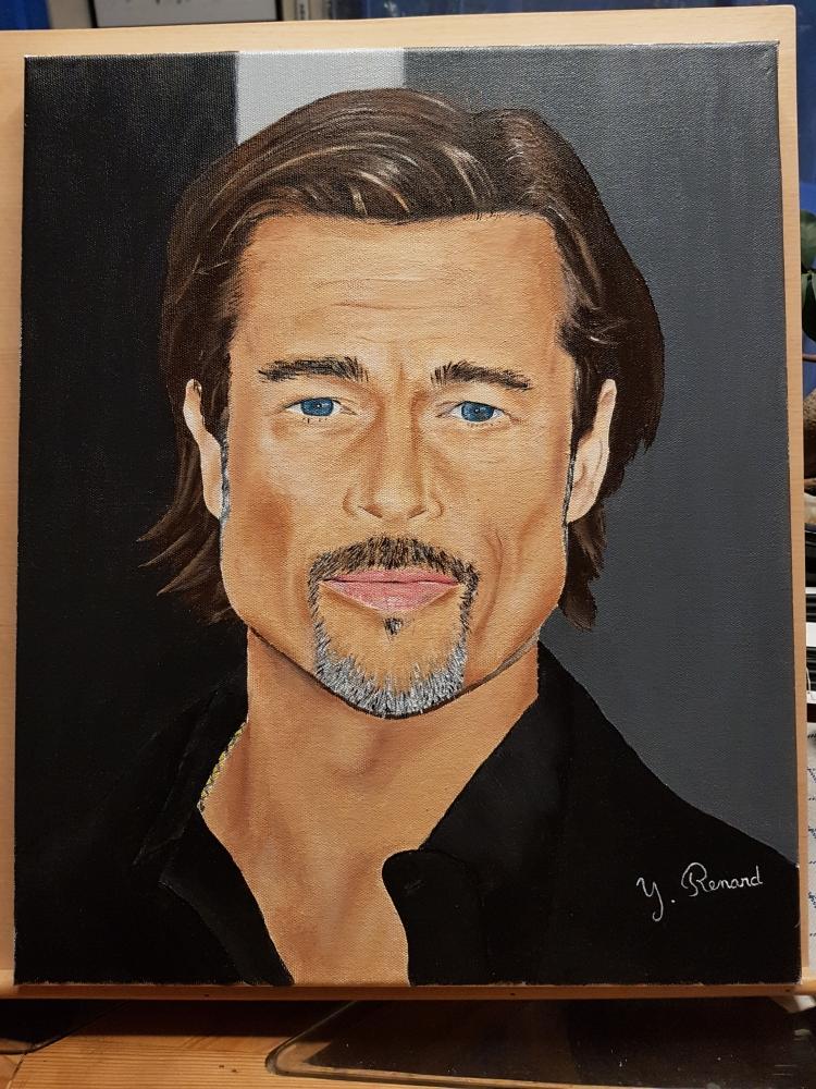 Brad Pitt by yoyobzh